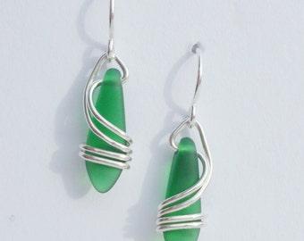GREEN Right Coast Earrings