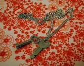 Skeleton Keys -- Necklace