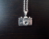 Strike a Pose -- Camera Charm Necklace