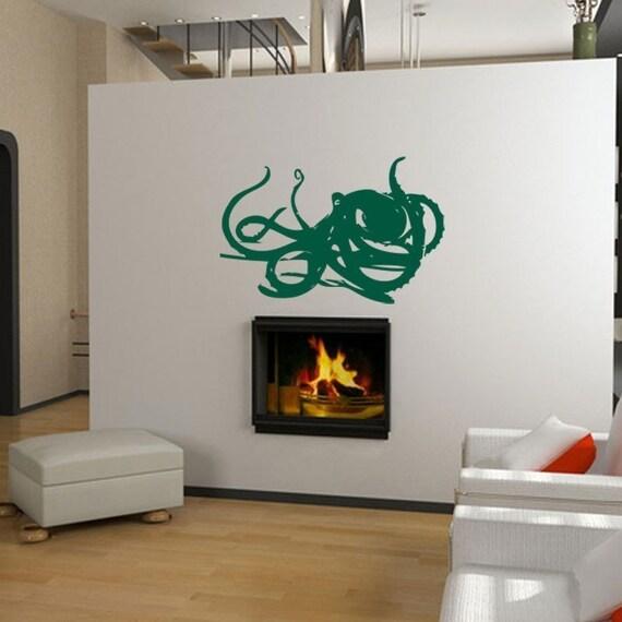 Deep Sea Kraken/Octopus Vinyl Wall Art