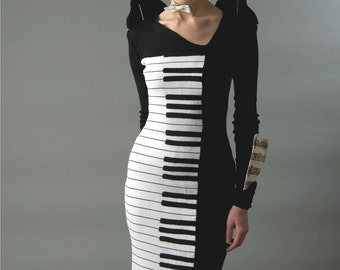 OOAK  Wearable Art Concert Piano dress