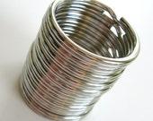 32 mm Split Rings (silver)