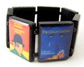 Banned Books Wood Bracelet