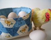 Fabric Tubby for Sharing, Snacking  or Storage - Chicks