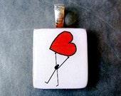 Big 'Ol Heart Heart pendant