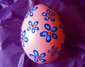Pink Egg Ornament