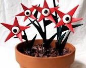 Scary Plant Paper Mache Sculpture