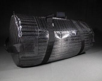 Extra Large Mens Carbon Fiber Duffel Bag / Duffle Bag - Pack Mule - Black