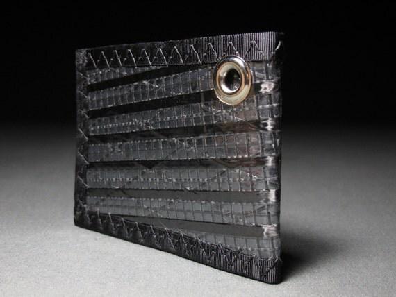 Rugged Bifold ID Chain Wallet - Carbon Fiber Black - Mens Wallet