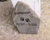Pet Memorial - Mountainside Field Stone