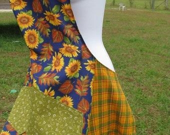 SALE Autumn Apron - by Happy Campers of the South (APR020)