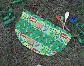 Christmas Apron - adult size - by Happy Campers of the South (APR065)