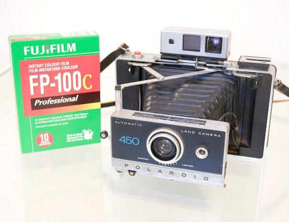 Polaroid 450 Vintage Camera Pack Film Battery Conversion Works