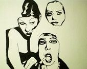 Rocky Horror Picture Show - Original Ink Drawing
