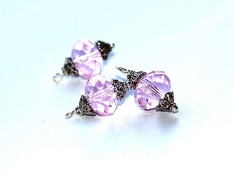 Free Ship Pink Ice Charms