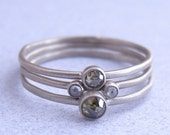 Small Rose Cut Diamond Ring