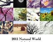 2011 Photo Calendar -- Natural World (5x7)