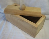 3 Pound Wood Soap Mold With Lid - Choose from two lid styles - Handmade in Colorado