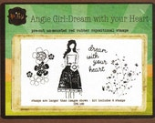 NEW Ippity by Unity -  Angie Girl: Dream with Your Heart FREE postage Australia Wide