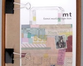 washi tape collectors book - kamoi masking tape book and bonus mt tape - LAST ONE.