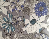 Limited Liberty Art Collection - 2012 spring/summer - liberty of london tana lawn -  gabrysia - grey- one metre