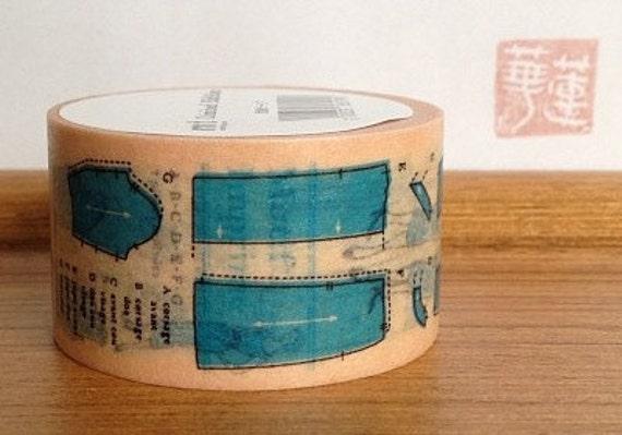 2012 limited edition mt washi masking tape - sewing patterns
