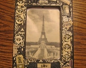 antique NUVO- picture frame
