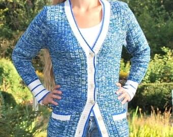 Vintage knit Cardigan Sweater