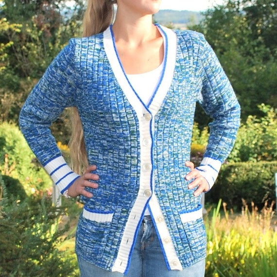 Vintage knit Cardigan Sweater