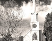 The Church Across the Street Digital 8x10 Print