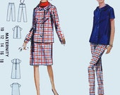 Maternity skirt and pants, jacket and blouse pattern, Size 14, Bust 34, Butterick 4408