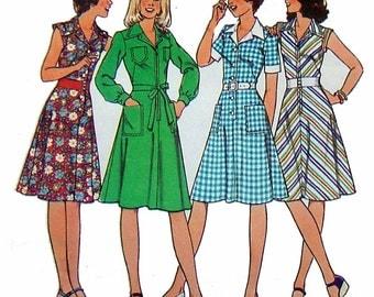 Dress Pattern, Style 1815, Size 14, Bust 36, Vintage 1977, UNCUT