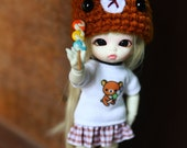 C009 - Felix brownie / Pukipuki  Outfits (Dress and hat / Free candy.)