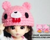 C030 - Groomy bear Hat for lati yellow /  pukifee