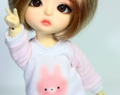 B135 - Lati yellow / pukifee Outfits (Pink rabbit)