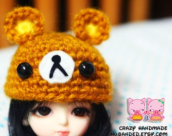 Crochet hat for lati yellow / pukifee