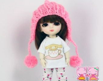 D020 - Lati Yellow / pukifee Outfits - T-shirt , pants and hat