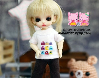A030 - T-shirt for lati white Sp / Pukipuki / felix brownie