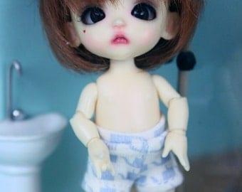 A087 - Short  pants for Lati White Basic