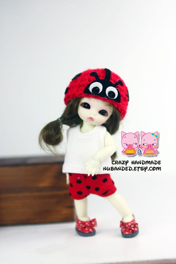 Felix brownie / pukipuki outfits (T-shirt , short pants and hat)