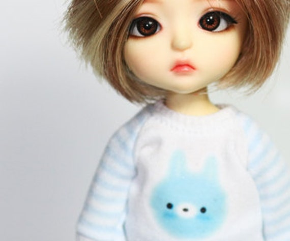 B122 - Lati yellow / pukifee Outfits (Blue rabbit)