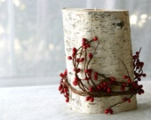 Birch Branch Candle Display