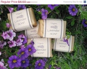 Organic Lavender Soap - Handmade the Old-Fashioned Way with Pure Lavender Essential Oil- VEGAN