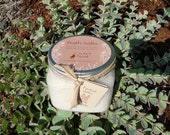 All Natural Patchouli and Amber Bath Salts with Pure Essential Oils and natural dead sea salt