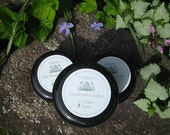 Organic Gardener's Salve with Healing Herbs and Pure Essential Oils for dried chapped skin w/ organic beeswax, comfrey, calendula  rosemary