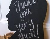 Elvis Silhouette Chalkboard