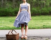 The Gingham Picnic Playsuit- XS, S, M, L