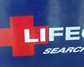 Lifeguard Search and Rescue Surfboard Sign