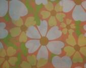 60s Flower Power Twin Sheet