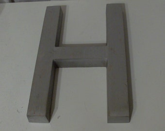 H Architecural Salvage Sign Letter (Code b)
